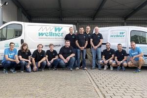 Unsere Servicetechniker - kompetent und engagiert by Wellner GmbH