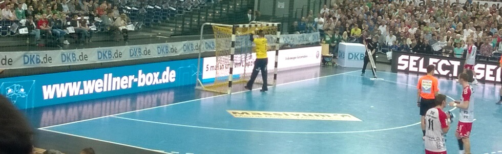Sponsoring des SC DHfK Handball durch die Wellner GmbH