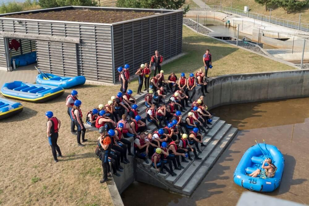 TEAMWellner Event 2016 - Rafting - Erst Die Theorie...