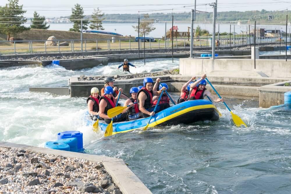 TEAMWellner Event 2016 - Rafting - Gemeinsam Gegen Den Strom