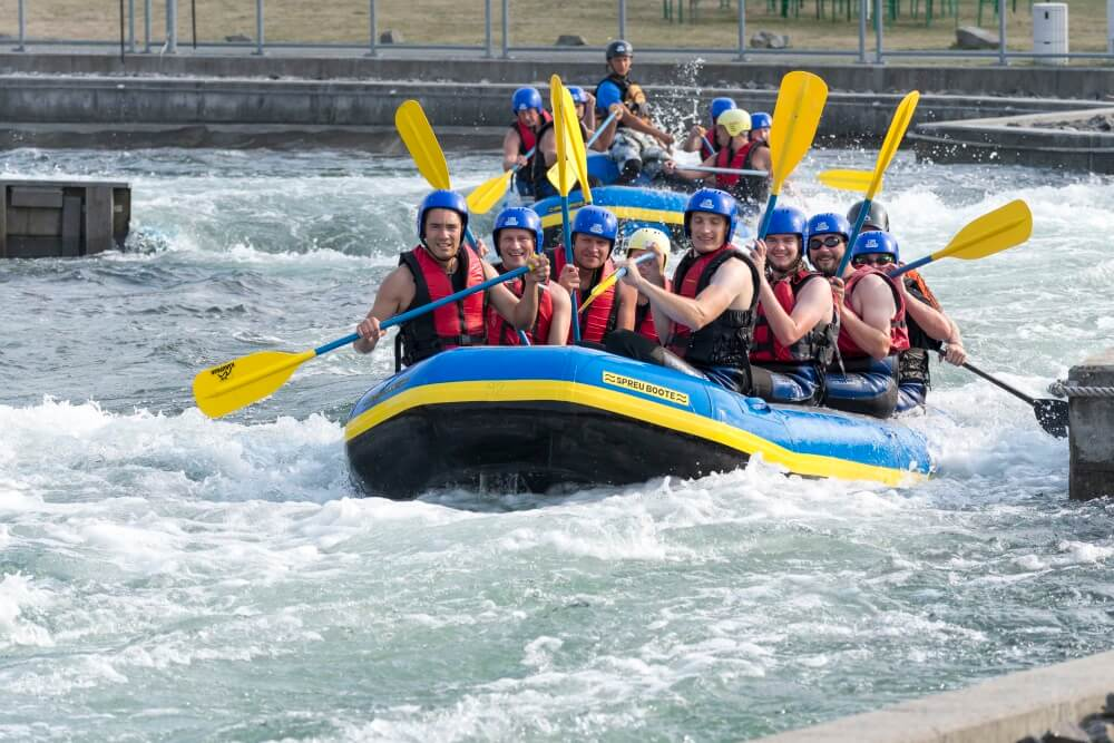 TEAMWellner Event 2016 - Rafting - Teamgeist