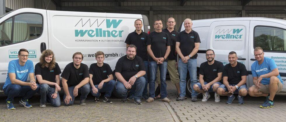 Unsere Sercivetechniker - kompetent und engagiert by Wellner GmbH