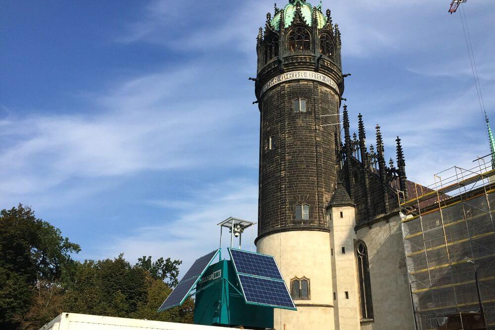 WellnerBOX Sichert Schlosskirche Wittenberg