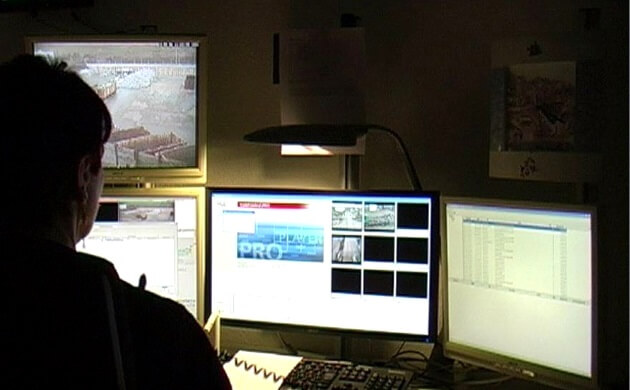 Im Videoleitstand der SWSG