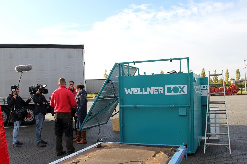 Einfach Genial – WellnerBOX Im MDR: Gleich Geht Es Aufs Dach