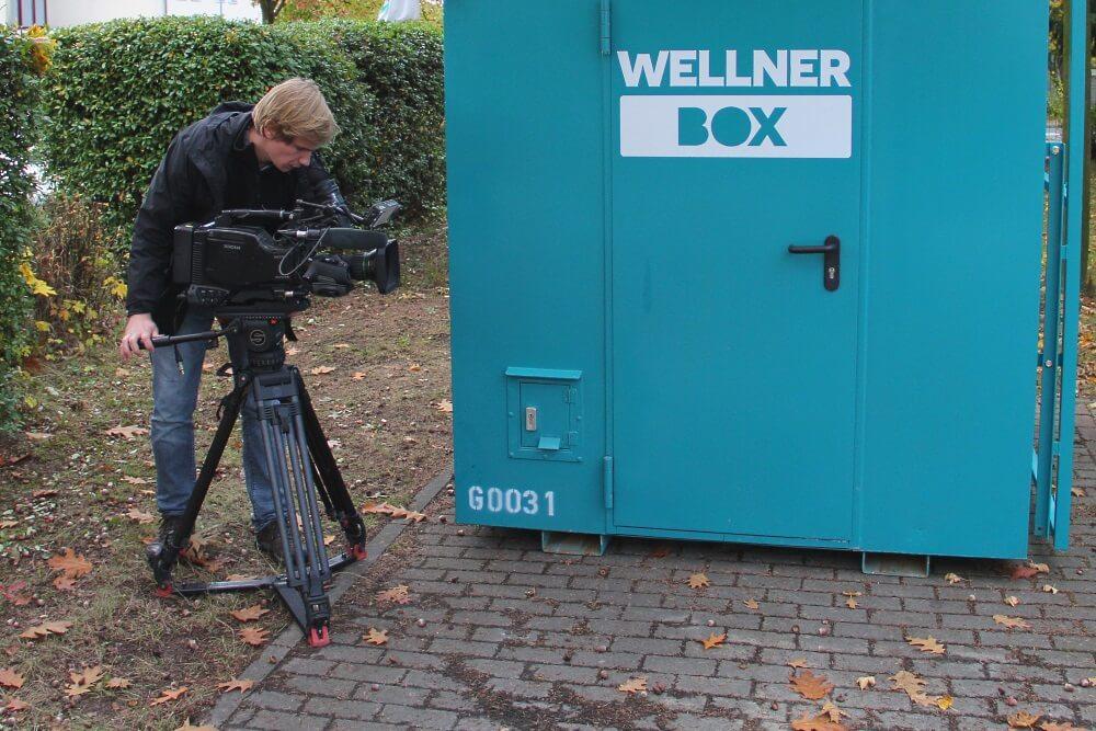 Filmdreh Für Einfach Genial: Im Fokus Der Aufmerksamkeit: WellnerBOX