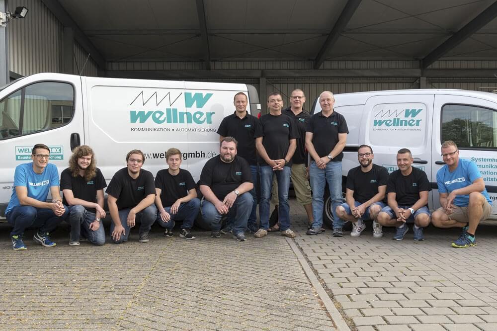 Mitarbeiter gesucht by Wellner GmbH