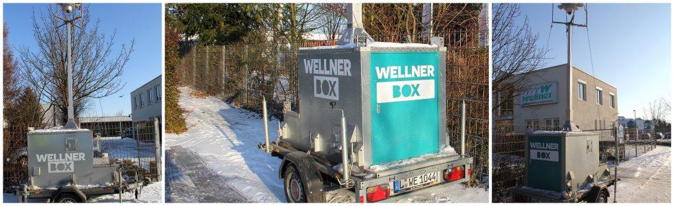 Mobile Videoüberwachung by Wellner GmbH