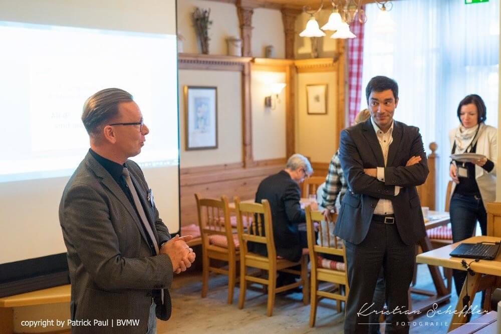 BVMW Unternehmerfruehstueck_Patrick Paul Und Joerg Wellner