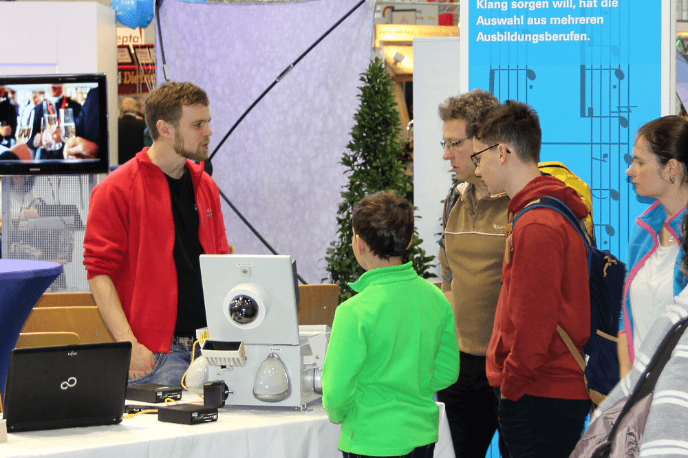 MItteldeutsche Handwerksmesse - Darum ging es am Karrierekreisel der HWK - junge Menschen für das Handwerk zu begeistern.