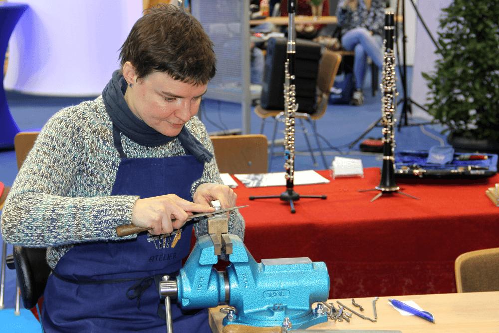 MItteldeutsche Handwerksmesse - Eine Meisterin Ihrer Zunft - Damaris Kuban
