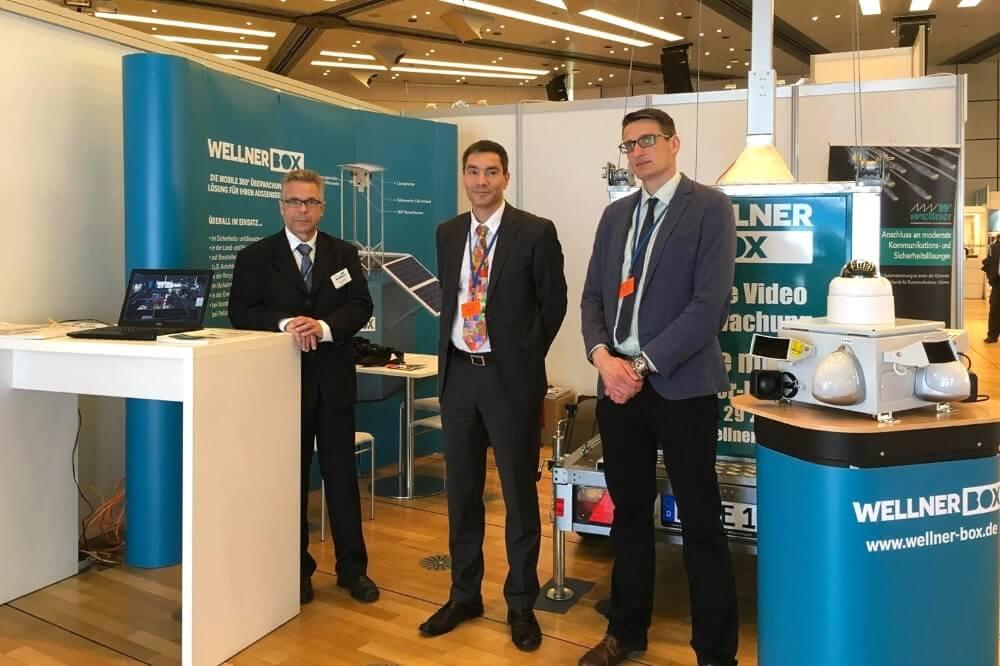 Unser WellnerBOX-Messeteam