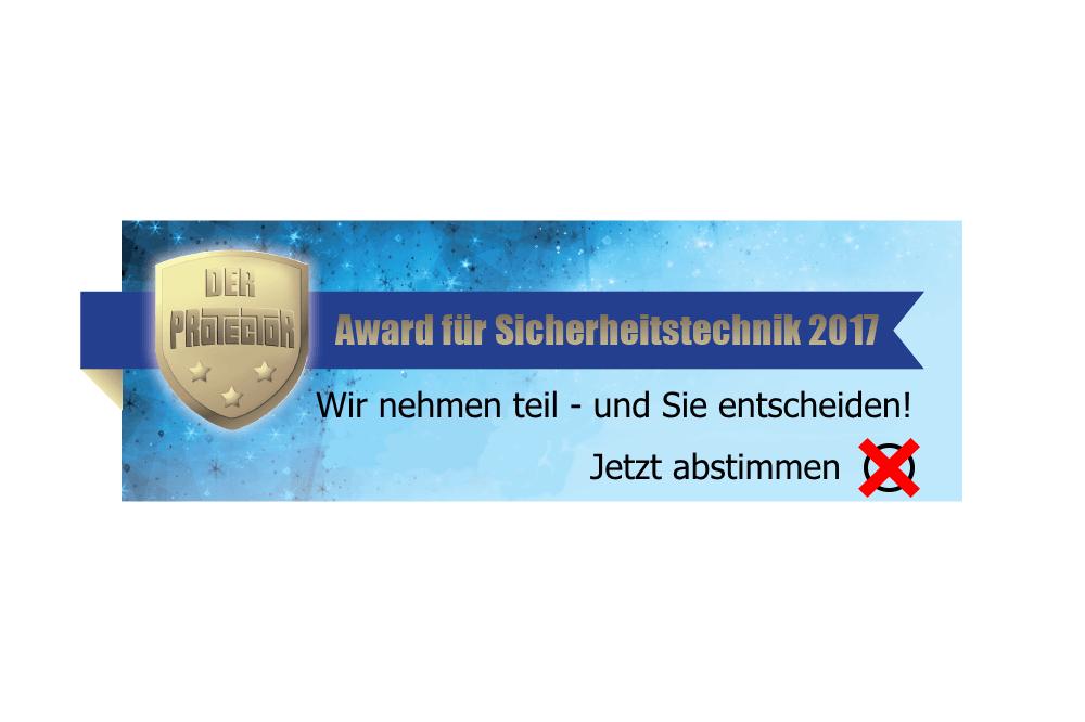 Protector Award 2017 – Wir Sind Dabei!