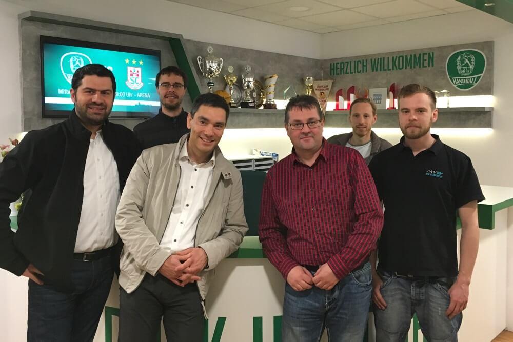 Geschaeftsleitung SC HDfK Handball Und Projektteam Wellner