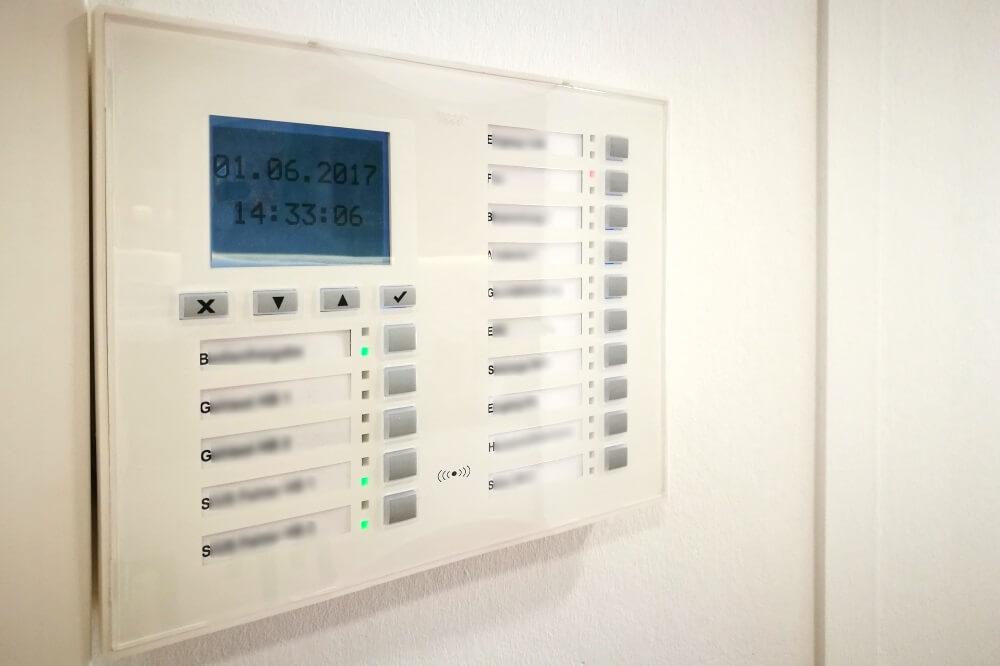 TOP-aktuelle Alarmtechnik sorgt fuer Sicherheit in der neuen Geschaeftsstelle des SC DHfK
