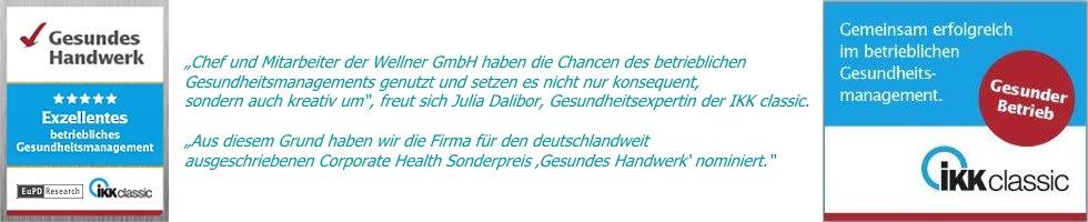 Excellentes Betriebliches Gesundheitsmanagement by Wellner GmbH
