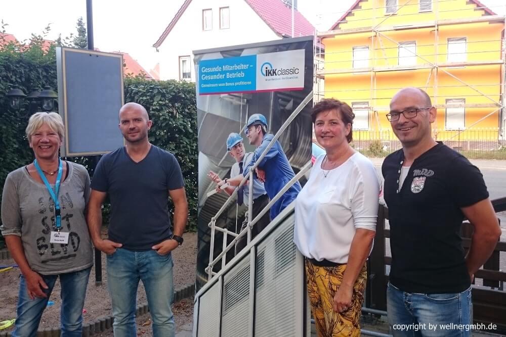 Unsere Partner in Sachen BGM: IKK classic und Vitality Solution