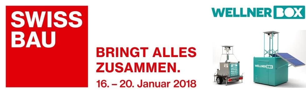 Wir sind auf der Swissbau 2018