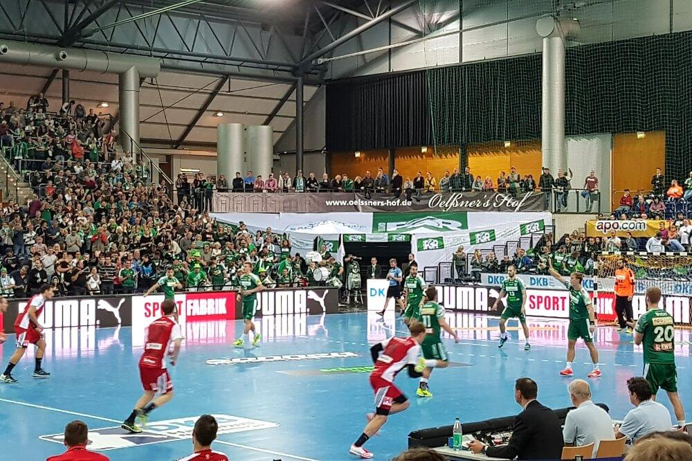 Handball-Spektakel Beim SC DHfK Leipzig