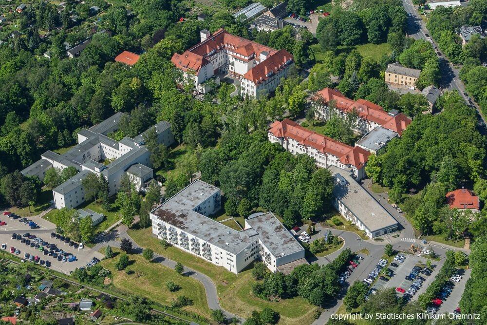 Klinikum Chemnitz - Komplex Dresdner Straße
