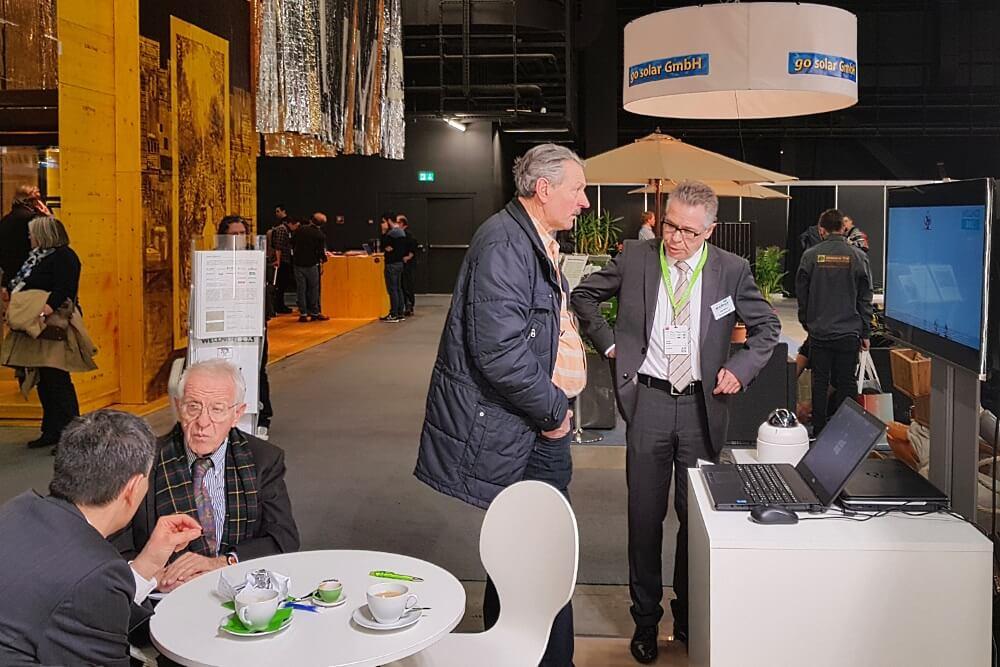Vor allem Autarkie und Mobilität der WellnerBOX konnten auf der Swissbau begeistern