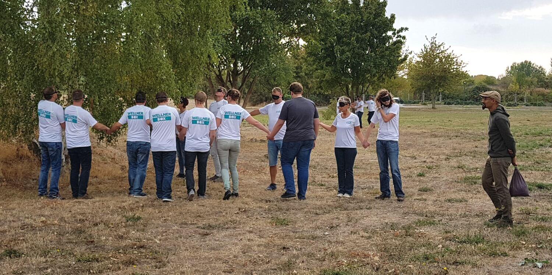 TEAMevent 2018 - Blinde Kuh als Gruppenspiel