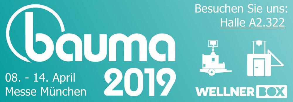 Wir sind auf der BAUMA 2019