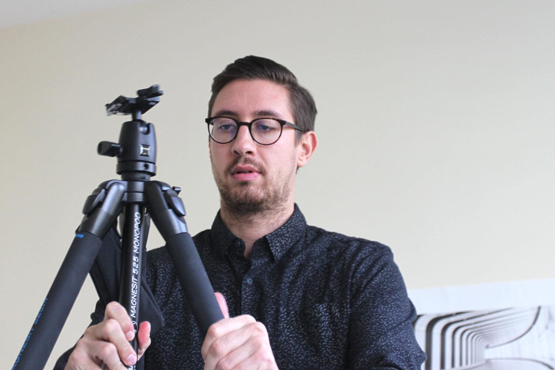 Daniel Seibert vom LKL-gesucht-Team.