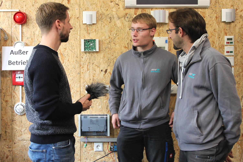 Steffen Wrede Interviewt Unsere Azubis